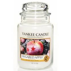 Yankee Candle Housewarmer Jar Glaskerze groß 623g Sugared Apple