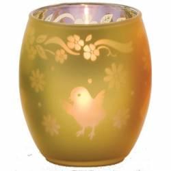 Chicks Teelichthalter gelb