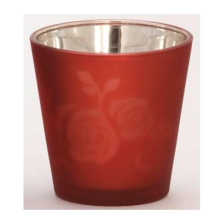 Yankee Candle Rose Votivhalter für Sampler – rot