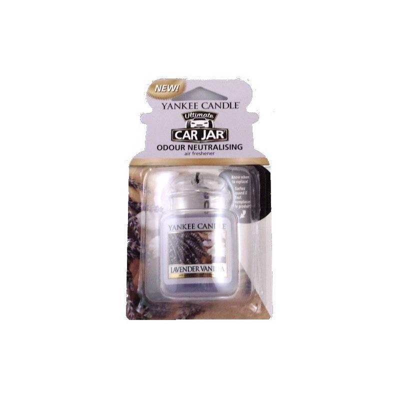 yankee candle car jar ultimate lavender vanilla. Black Bedroom Furniture Sets. Home Design Ideas