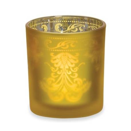 Yankee Candle Warm Glow Gold Votivehalter