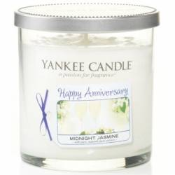 Yankee Candle 1 Docht Tumbler Glaskerze klein 198g Celebrations Happy Anniversary