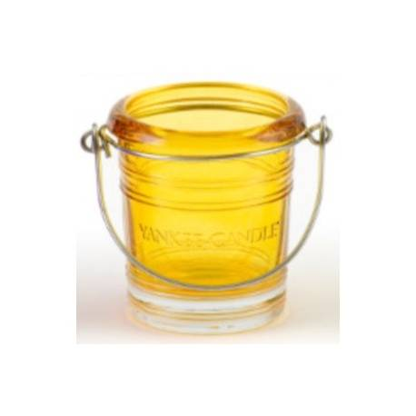 Yankee Candle Bucket Votivhalter gelb