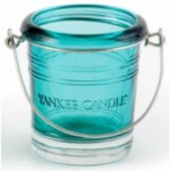 Yankee Candle Bucket Votivhalter grün / blau