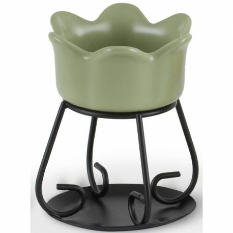 Yankee Candle Petal Bowl Duftlampe grün