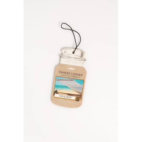 Yankee Candle Car Jar Sun & Sand