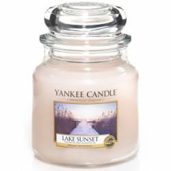 Yankee Candle Jar Glaskerze mittel 411g Lake Sunset