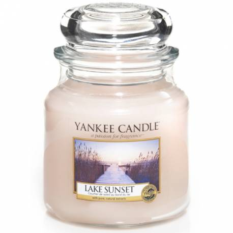 Yankee Candle Jar Glaskerze mittel 411g Lake Sunset