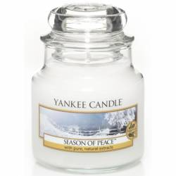 Yankee Candle Jar Glaskerze klein 104g Season of Peace