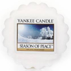Yankee Candle Tart Season of Peace