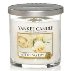 Yankee Candle 1 Docht Regular Tumbler Glaskerze klein 198g Wedding Day