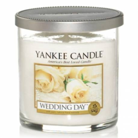 Yankee Candle 1 Docht Regular Tumbler Glaskerze klein 198g Wedding Day