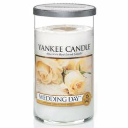 Yankee Candle Pillar Glaskerze mittel 340g Wedding Day