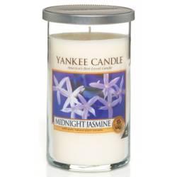 Yankee Candle Pillar Glaskerze mittel 340g Midnight Jasmine
