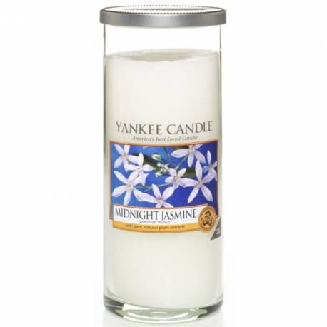 Yankee Candle Pillar Glaskerze gross 538g Midnight Jasmine