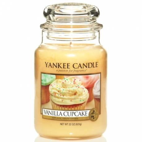 Yankee Candle Jar Glaskerze groß 623g Vanilla Cupcake