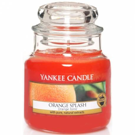 Yankee Candle Jar Glaskerze klein 104g Orange Splash