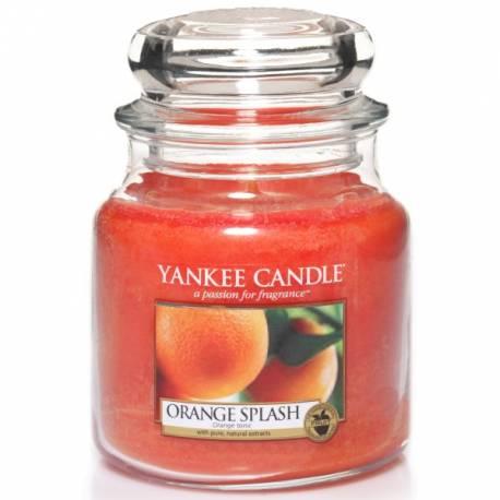 Yankee Candle Jar Glaskerze mittel 411g Orange Splash