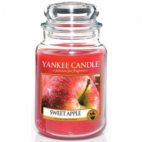 Yankee Candle Jar Glaskerze groß 623g Sweet Apple