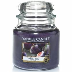 Yankee Candle Jar Glaskerze mittel 411g Wild Fig