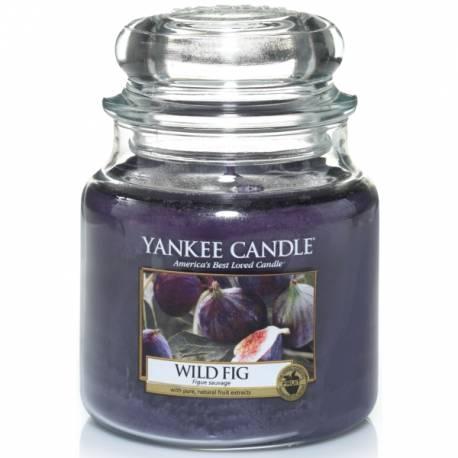 Yankee Candle Jar Glaskerze mittel 411g Wild Fig