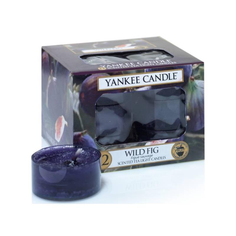 yankee candle teelichter 12er pack wild fig. Black Bedroom Furniture Sets. Home Design Ideas