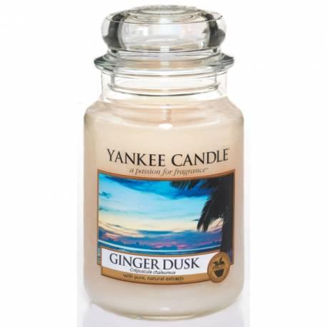Yankee Candle Jar Glaskerze groß 623g Ginger Dusk