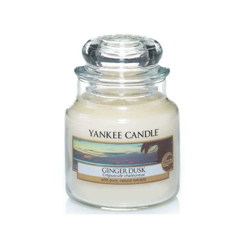 yankee candle housewarmer classic jar glaskerze klein 104g ginger dusk. Black Bedroom Furniture Sets. Home Design Ideas