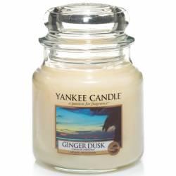 Yankee Candle Jar Glaskerze mittel 411g Ginger Dusk
