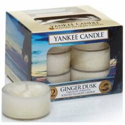 Yankee Candle Teelichter 12er Pack Ginger Dusk