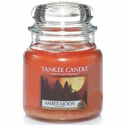 Yankee Candle Jar Glaskerze mittel 411g Amber Moon