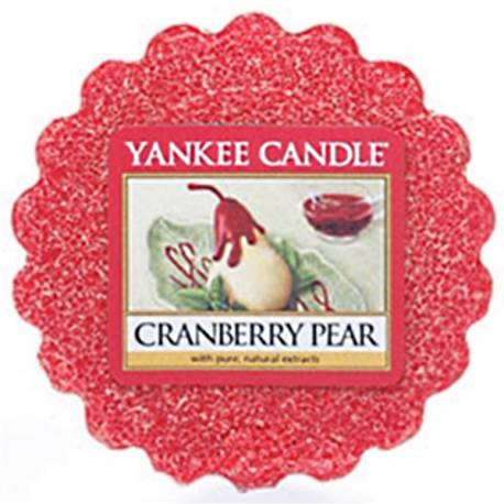 Yankee Candle Tart / Melt Cranberry Pear