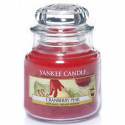 Yankee Candle Jar Glaskerze klein 104g Cranberry Pear