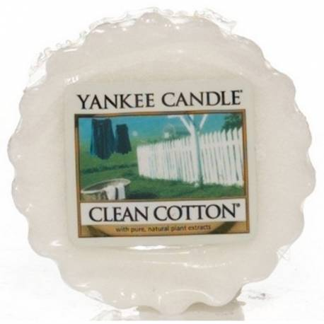 Yankee Candle Tart / Melt Clean Cotton