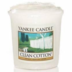 Yankee Candle Sampler Votivkerze Clean Cotton