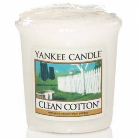 Yankee Candle Sampler Votivkerze Clean Cotton