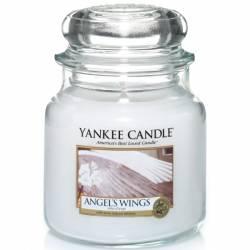 Yankee Candle Jar Glaskerze mittel 411g Angel Wings
