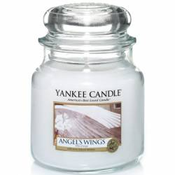 Yankee Candle Jar Glaskerze mittel 411g Angel Wings