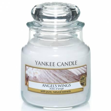 Yankee Candle Jar Glaskerze klein 104g Angel Wings