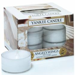 Yankee Candle Teelichter 12er Pack Angel Wings