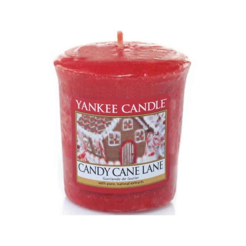 yankee candle sampler votivkerze candy cane lane. Black Bedroom Furniture Sets. Home Design Ideas