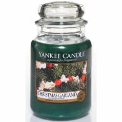 Yankee Candle Jar Glaskerze groß 623g Christmas Garland