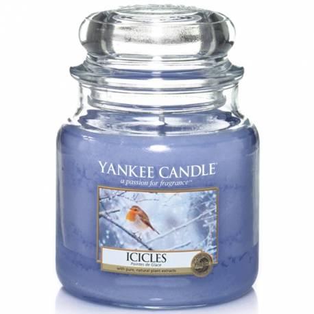 Yankee Candle Jar Glaskerze mittel 411g Icicles
