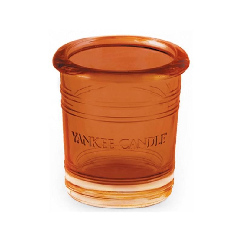 yankee candle bucket votivhalter orange splash. Black Bedroom Furniture Sets. Home Design Ideas