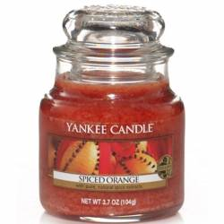 Yankee Candle Jar Glaskerze klein 104g Spiced Orange