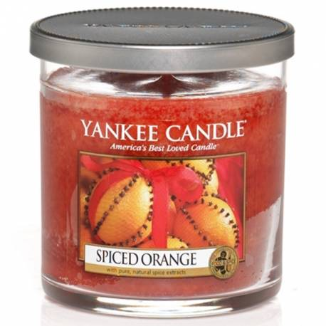 Yankee Candle 1 Docht Regular Tumbler Glaskerze klein 198g Spiced Orange
