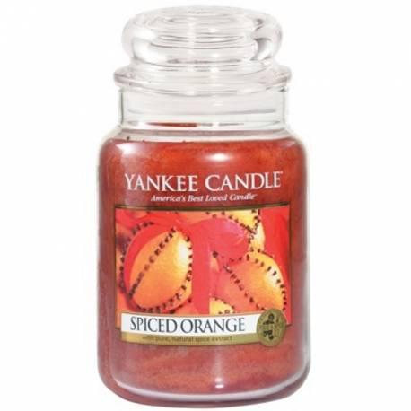 Yankee Candle Jar Glaskerze groß 623g Spiced Orange