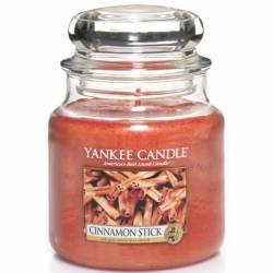 Yankee Candle Jar Glaskerze mittel 411g Cinnamon Stick