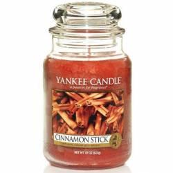 Yankee Candle Jar Glaskerze groß 623g Cinnamon Stick