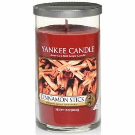 Yankee Candle Pillar Glaskerze mittel 340g Cinnamon Stick